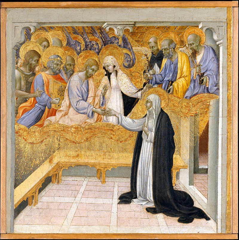 800px-Giovanni_di_Paolo_The_Mystic_Marriage_of_Saint_Catherine_of_Siena,