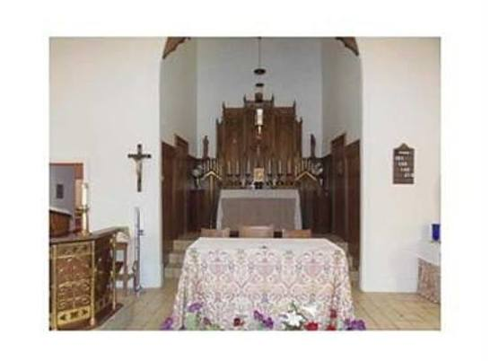 the humble sanctuary of the church