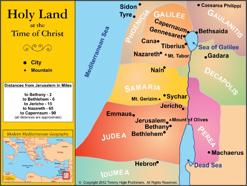 Holy Land at the Time of Christ