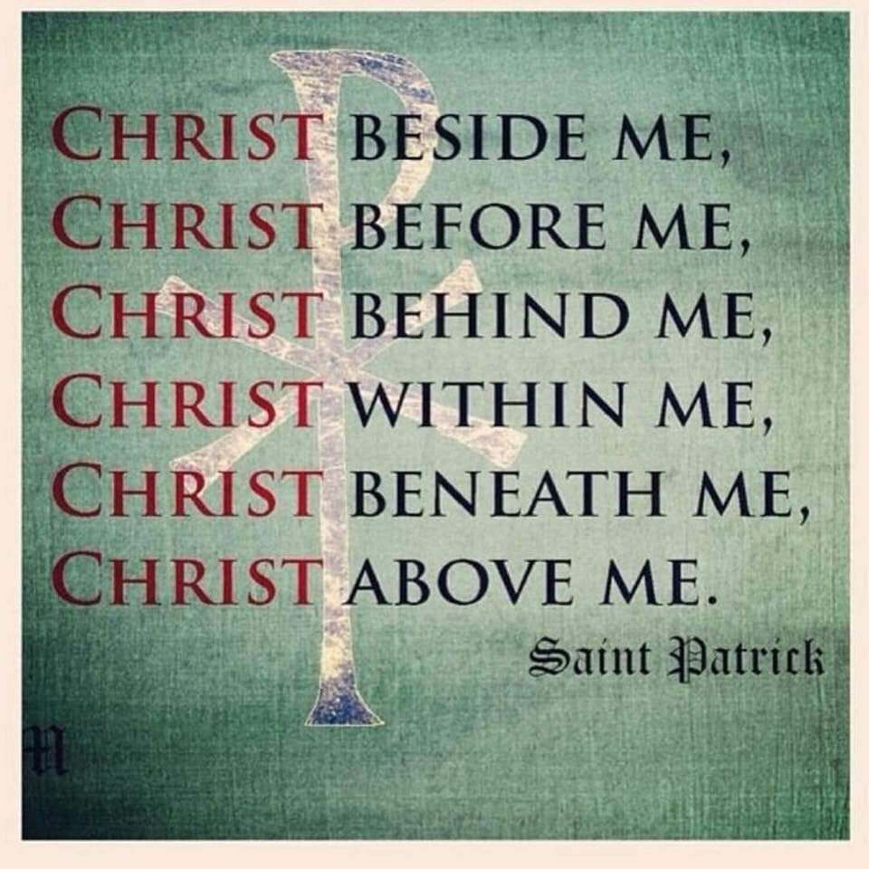 christ within me patrick