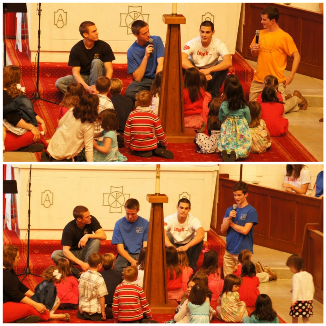 children's sermon collage