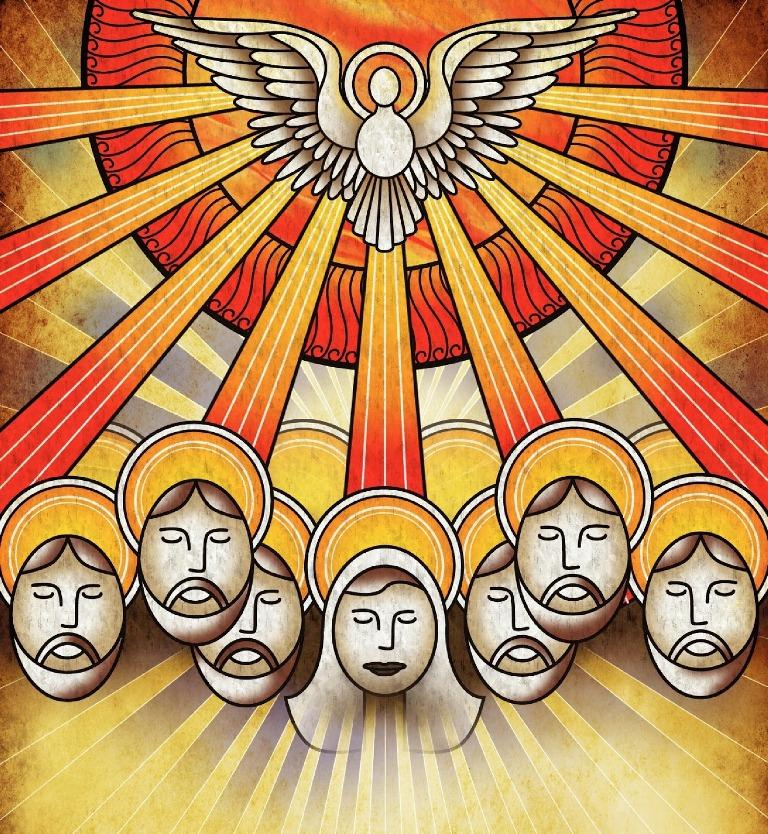 Feast of Pentecost Clipart
