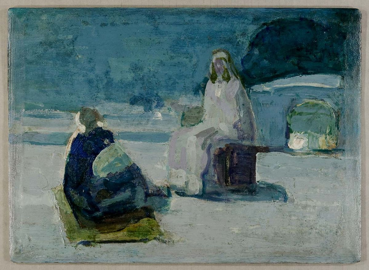 Henry_Ossawa_Tanner_-_Study_for_Jesus_and_Nicodemus